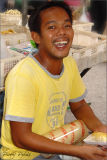 All Smiles Of A Local Hawker