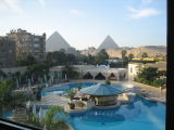 View from Cairo Hotel