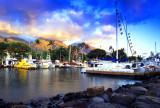 Lahaina Harbor Sunset