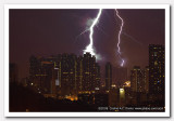 Biggest Thunder in life!  Does the building survive?