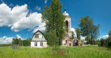 Vladimir region, church in Novy Spas village