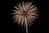 Fireworks at Flagler Beach pier July 4, 2008