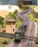 BNSF SD40-2 6790 leads an empty PGEX coal train.