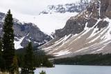 Crowfoot Glacier and Bow Lake