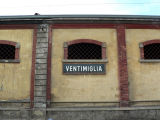 Stop over in Ventimiglia to change trains.