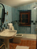 Our really cool bathroom in the agriturismo