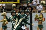 San Jose SaberCats quarterback Mark Grieb