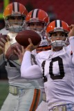 Cleveland Browns quarterback Brady Quinn