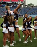 Murray State University cheerleader