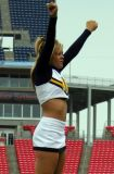 NCAA Murray State University cheerleader