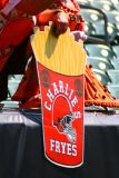 Fan sign supporting Cleveland Browns QB Charlie Frye