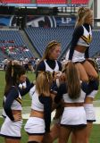 Murray State University cheerleaders