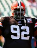 NFL Cleveland Browns lineman Ted Washington