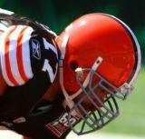NFL Cleveland Browns lineman Kevin Shaffer