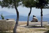 Some romance on Mount Pantokrator