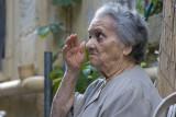 Old lady in Kerkyra (Corfu Town)