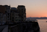 Sunset in Kerkyra (Corfu Town)