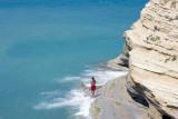 Walking next to the sea, Sidari