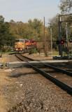 Coal Train in Garnett, Ks.