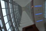 J.W. Marriott looking up