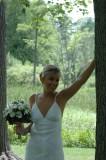 beautiful bride on a beautiful day