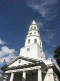 Downtown Charleston church
