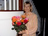 Roses from her son