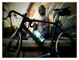 Meditation with Buddha and Bicycle
