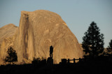 Posing In Front of Half Dome - # 1