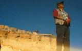 Acoma Pueblo Man in Reflection