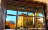 Window Reflection, Old Town, Albuquerque