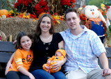 Pumpkin Patch pictures and birthday celebration