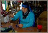 A craftswoman in Camlihemsin