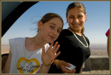 Two girls in Mardin