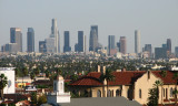 Downtown LA from Hollywood