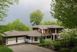 Our much loved house in Penn Run, PA (1999-2008) in early spring