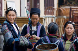 Black Hmong women in Sapa