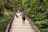 Northern Vietnam -  fearless Hmong kids at play