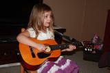 Emma Playing GuitarNovember 8, 2009