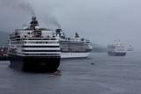 Four Cruise ShipsJune 25, 2008