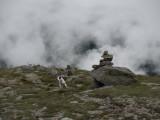 Sacha on top of Mt. Washington