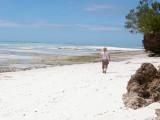 The northern tip of Zanzibar