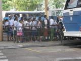 The bus terminal