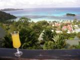 Mango juice at Mango Lodge