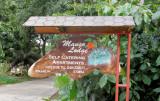 The steep road to Mango Lodge