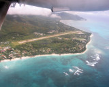 Grand' Anse and the airport