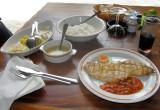 Bonbon Plume restaurant - Main course: grilled dorado