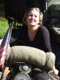 Our own biker girl
