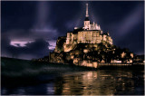 Mont-St.Michel bij nacht.jpg