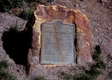 Million Dollar Highway:  Red Mountain Pass Marker